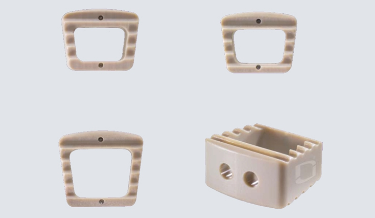 Cervical PEEK cage Coroent Small